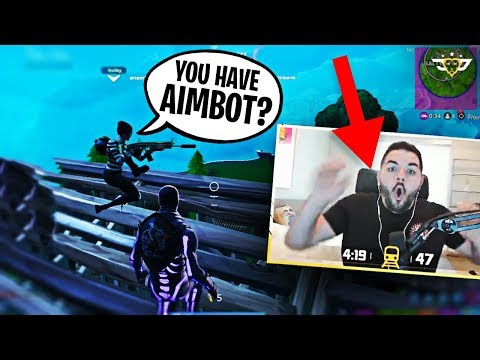 LITTLE KID THINKS COURAGE HAS AIMBOT?! BOTH BROTHERS FREAKOUT! (Fortnite: Battle Royale)