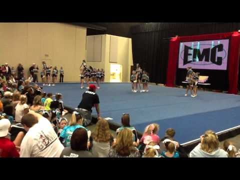 East Mississippi Cheerleading White Squad *GRAND CHAMPION* 2/18/12