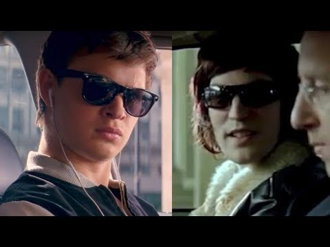 Baby Driver Opening Scene/Mint Royale Blue Song (side by side)
