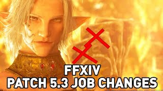 FFXIV - Patch 5.3 Job Changes Overview