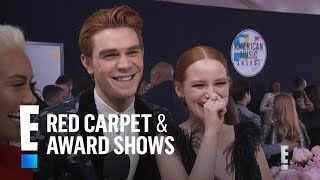 "Download Lagu KJ Apa & Madelaine Petsch Take ""Riverdale"" to the 2017 AMAs 