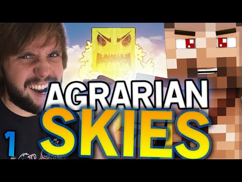 MODDED SKYBLOCK! - Agrarian Skies - Ep 1