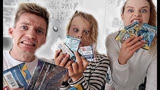 INSANE Pokemon Card Challenge VS Sabre Norris & Biggy