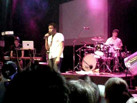 iamdonald tour - Childish Gambino - The Longest Text Message encore. Boulder, CO. April 18, 2011