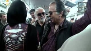 تبلیغ طراحی مد لباس در مترو توسط شیر زنان ایرانی