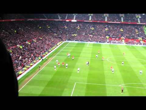 Man Utd: You'll never get a job / Andy Carroll / Racist Bastard chants @ Old Trafford 11/2/12