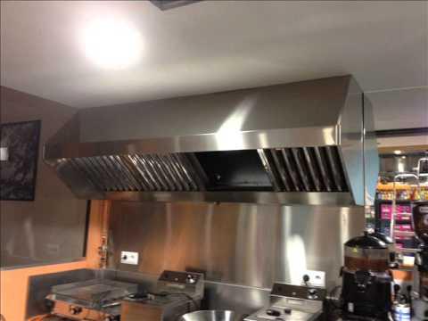 Extraccion de humos youtube - Extractor humos cocina ...