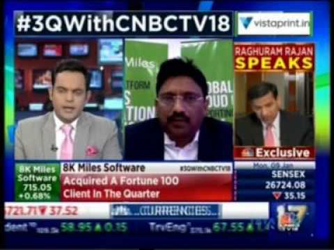 8K Miles Q3 results 17  - CNBC Chartbusters with Mr. Suresh V- Chmn & CEO