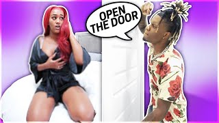 CHEATING WITH THE DOOR LOCKED PRANK ON BOYFRIEND!!!💔