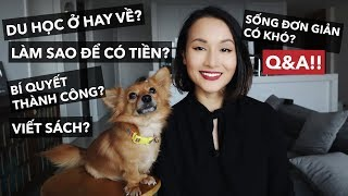 STAYING OR RETURNING AFTER STUDYING ABROAD, KEYS TO SUCCESS, HOW TO HAVE MONEY | Q&A | Giang Oi