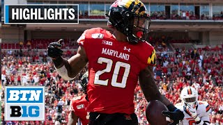 Highlights: Javon Leake Declares for 2020 NFL Draft | Maryland | B1G Highlights