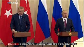 Turkey, Russia reach deal on Syria's Idlib