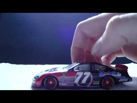 Travis Kvapil 2004 Mobil Clean 5000 Diecast Review Video
