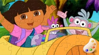 Dora The Explorer Dora Boots and Friends Fun Speed Puzzle for Kids