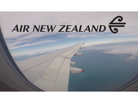 Air New Zealand A320 takeoff from R5