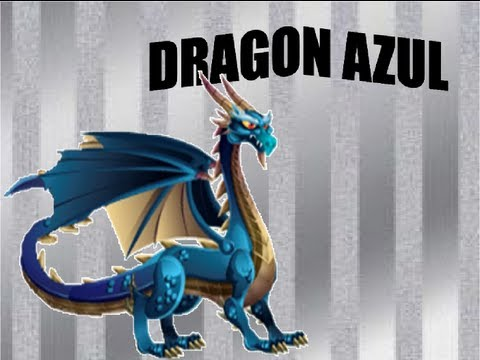 Dragon Azul - Dragon city