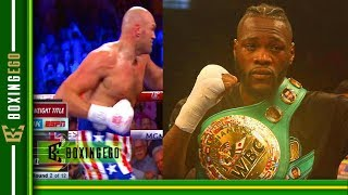 *LIVE EGO* DEONTAY WILDER AND TYSON FURY TOP HEAVYWEIGHTS BUT DOUBLE STANDARDS ARE BRAZY!