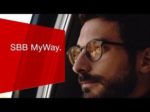 SBB MyWay - Bewusster reisen.