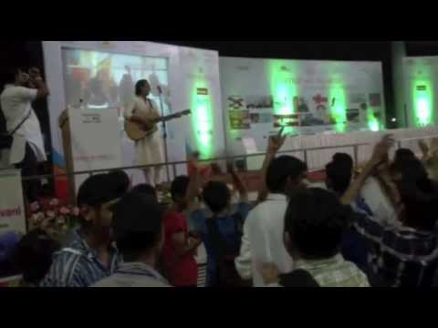 Siddharth Mohan At Panjab University,chandigarh video
