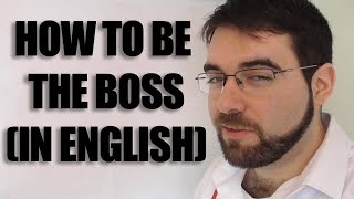 Using Imperatives How to tell people what to do in English