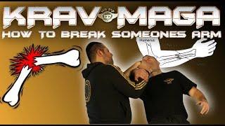 [KRAV MAGA   HOW TO BREAK SOMEONES   ARM BY EXPERT ALAIN COHEN]