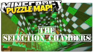 Minecraft | The Selection Chambers | KIDNAPPED BY THE GOVERNMENT (Minecraft Puzzle Map)