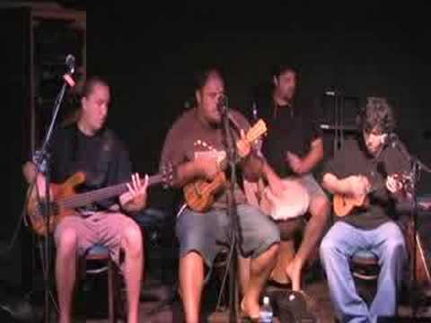 Kanekoa - Maui Hawaiian Suppa Man (live Uke Rock) video