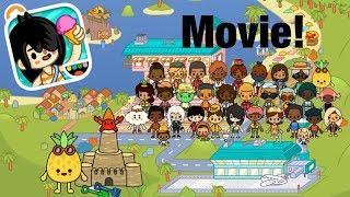 Toca life vacation short Movie!!!