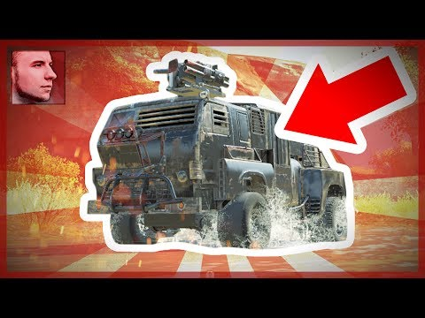 CROSSOUT // КАМАЗ-МАСТЕР
