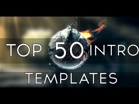 TOP 50 Free 2D & 3D INTRO Templates Sony Vegas Pro