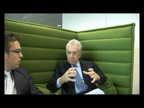 Interview Mario Monti - Internal Market and social issues - part 01