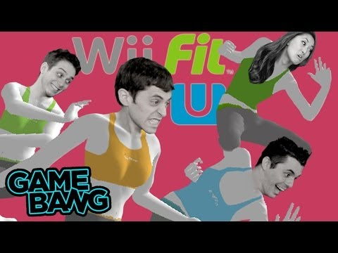 TWERKING IT OUT IN WII FIT U (Game Bang)