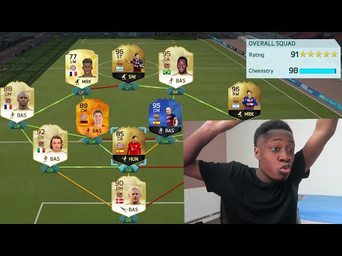 191 RATED!!!!!!!!! FIFA 16 - BREAKING FUT DRAFT WORLD RECORDS!!
