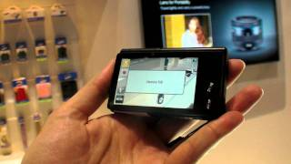 Samsung Multiview MV800 camera with fold-out screen and touch screen functions