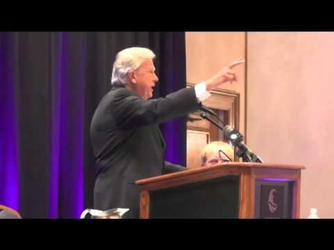 Democrat Parker Griffith Speaks to Crowd at Orange Beach Candidate Forum