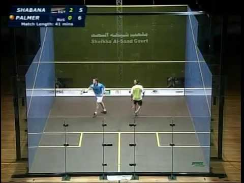 Rare Squash: Kuwait open 2007 - Amr Shabana - David Palmer