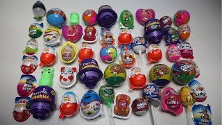 50  SURPRISE EGGS Huge Collection With Free Gift Inside
