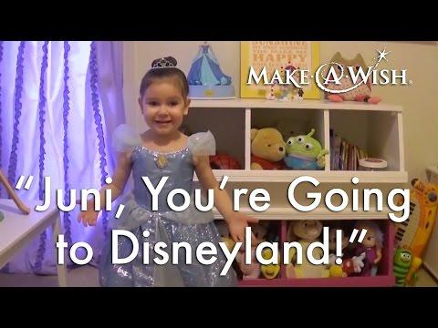Juni, you're going to Disneyland