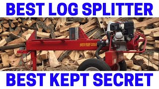 This Log Splitter BEATS ALL OTHERS (Two-Way Knife Action)