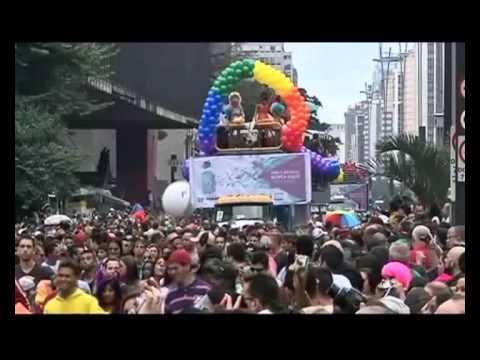 В Бразилии состоялся самый массовый за всю историю гей-парад. пытки журнали