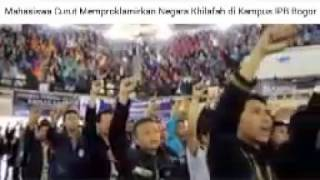 Deklarasi curut Khilafah di Kampus Mahasiswa dan HTI