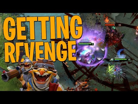 Getting Revenge - DotA 2 Techies Full Match