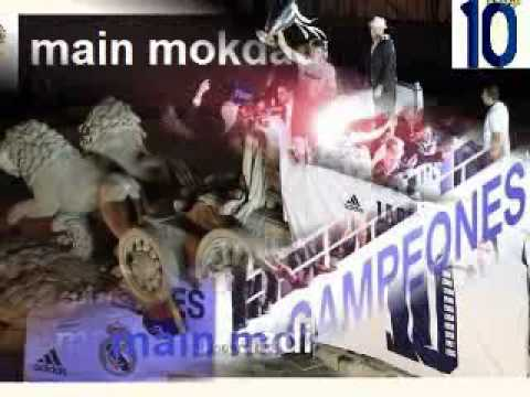 Real Madrid, UEFA Champions League 2014 Winners  song main mokdadi