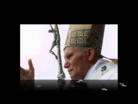 Вервиця молиться св. Папа Іван Павло ІІ