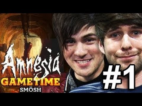 IS AMNESIA REALLY SCARY? (Gametime with Smosh)