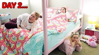 Last To Get Out of the BEDROOM WINS $10,000 CHALLENGE!