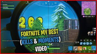 FORTNITE MY BEST (KILLS & MOMENTS) VIDEO | aaRon