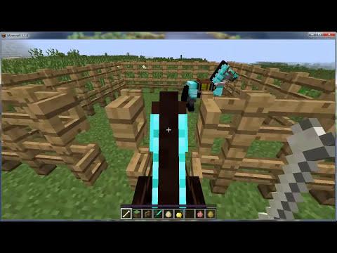 Como aparear caballos en minecraft