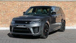 2018 Range Rover Sport 5.0 SVR - Corris Grey - Walkaround, Interior & Loud Revs