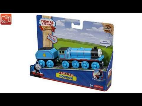 Fisher-Price Thomas the Train Wooden Railway Talking Gordon video reviews
